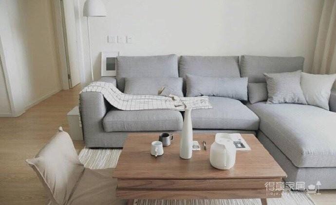 70平小户型装修,舒适与安心的北欧混搭风家居图_2