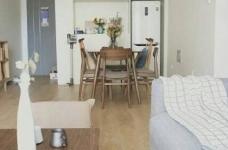 70平小户型装修,舒适与安心的北欧混搭风家居图_3