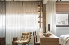 130㎡ 公寓翻新,将复古风格与现代家居创新结合图_7