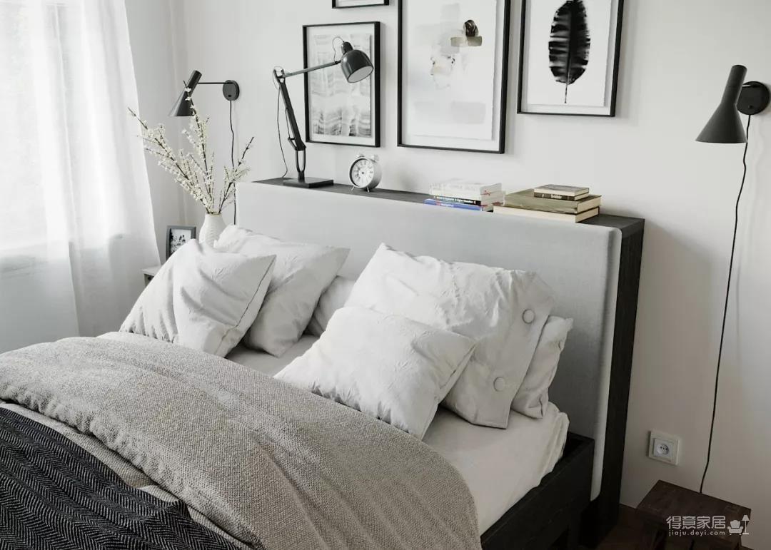 一室一厅的简约设计小宅,合理利用空间,小家瞬间大两倍!图_6