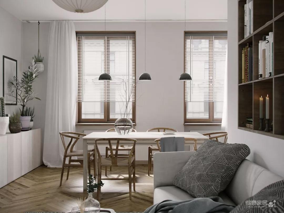 一室一厅的简约设计小宅,合理利用空间,小家瞬间大两倍!图_9