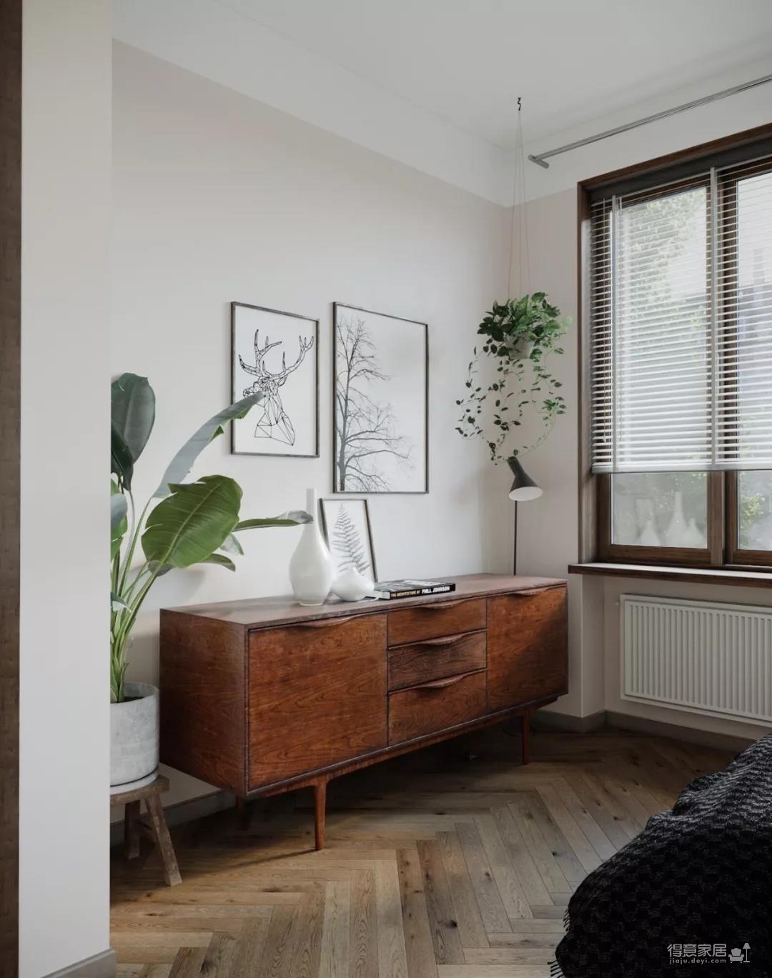 一室一厅的简约设计小宅,合理利用空间,小家瞬间大两倍!图_5
