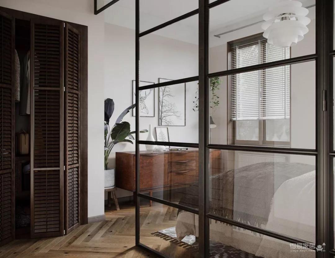 一室一厅的简约设计小宅,合理利用空间,小家瞬间大两倍!