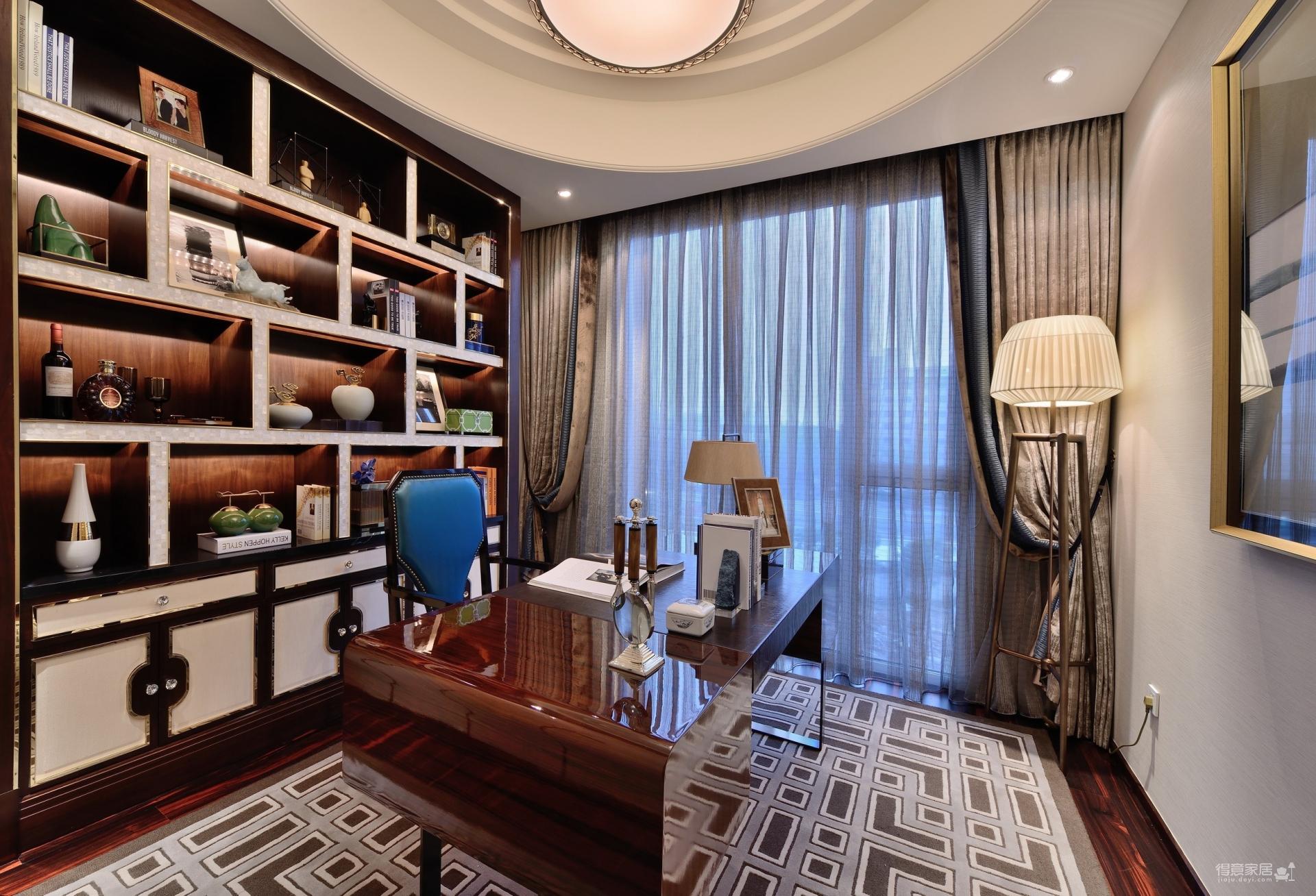 盛世江城140平三室现代简约风格 半包6.5万