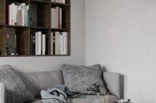 一室一厅的简约设计小宅,合理利用空间,小家瞬间大两倍!图_2