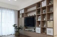 102㎡简约日式,L型电视墙,超强收纳图_4