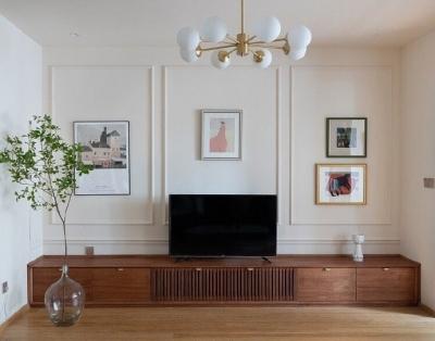 120平新中式复古风,赏心悦目的装修设计。