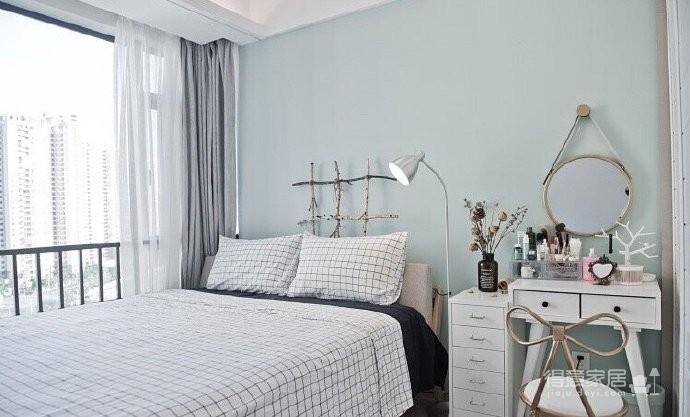 两居室北欧风,喜欢墙面配色,十分清新脱俗。图_5