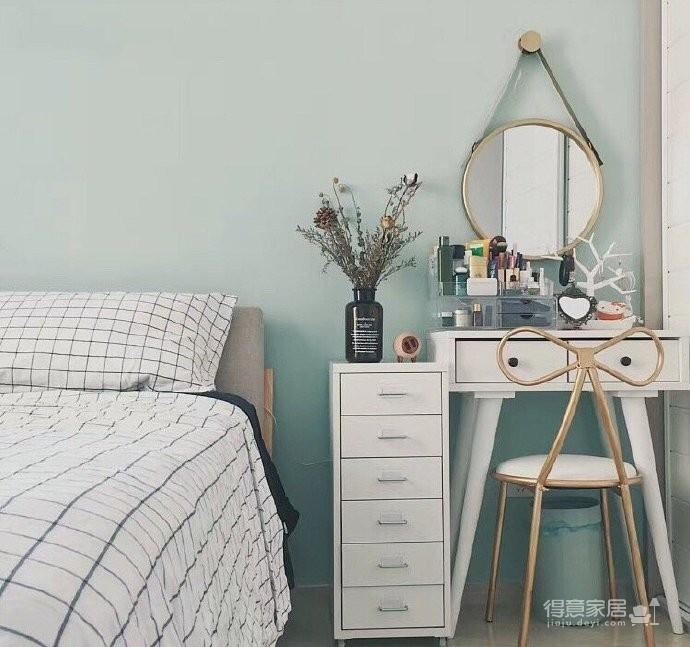 两居室北欧风,喜欢墙面配色,十分清新脱俗。图_4