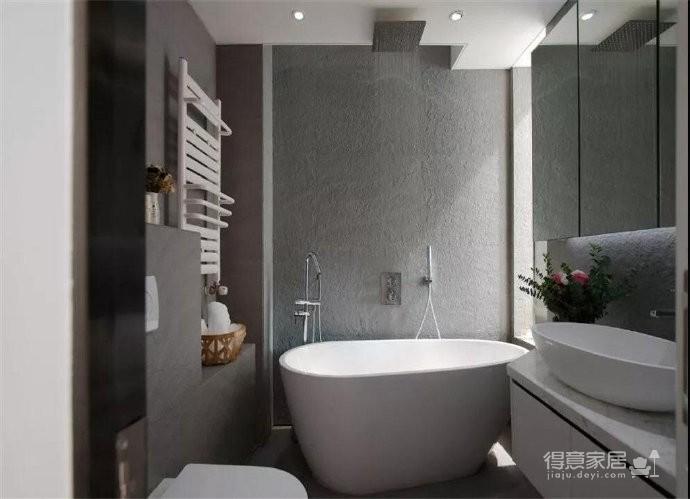 43平的工业风小户型公寓,水泥墙带来独特质感图_2