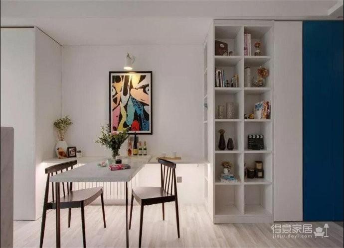 43平的工业风小户型公寓,水泥墙带来独特质感图_5