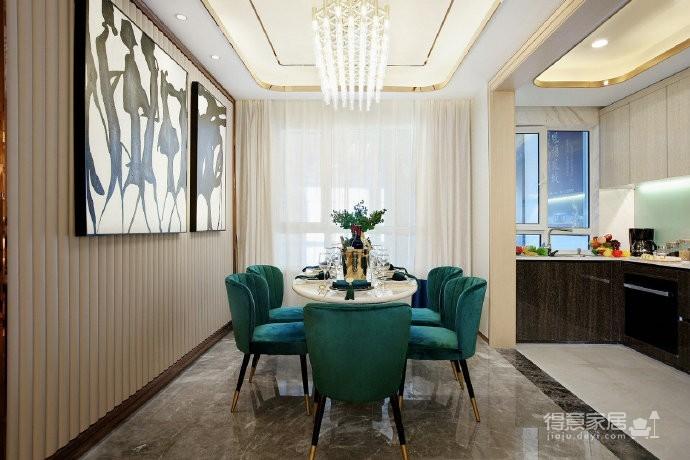 现代轻奢风格家居装修设计,时尚雅致的住宅空间! 图_9