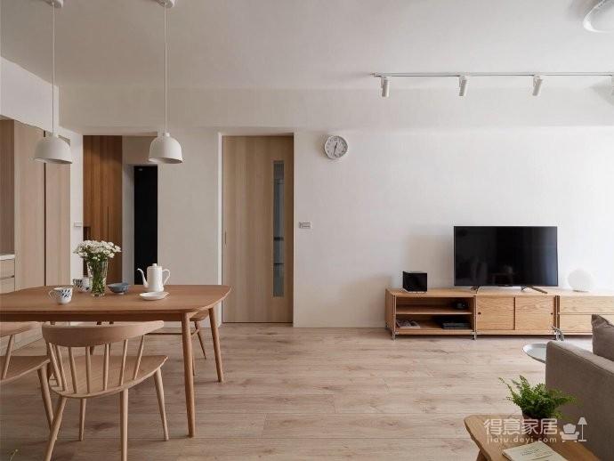 自然舒适原木风家居设计,暖暖的色调让人感觉特别温馨惬意! 图_6