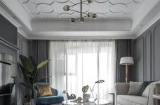 首发 || 这个家用壁炉电视墙,打造出撩人心弦的美式轻奢风!图_1