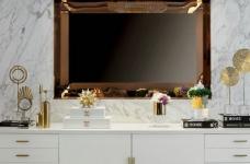 现代轻奢风格家居装修设计,时尚雅致的住宅空间! 图_2