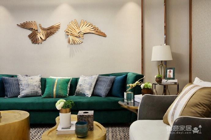 现代轻奢风格家居装修设计,时尚雅致的住宅空间! 图_1