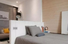 43平的工业风小户型公寓,水泥墙带来独特质感图_7