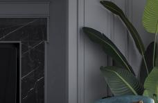 首发 || 这个家用壁炉电视墙,打造出撩人心弦的美式轻奢风!图_14