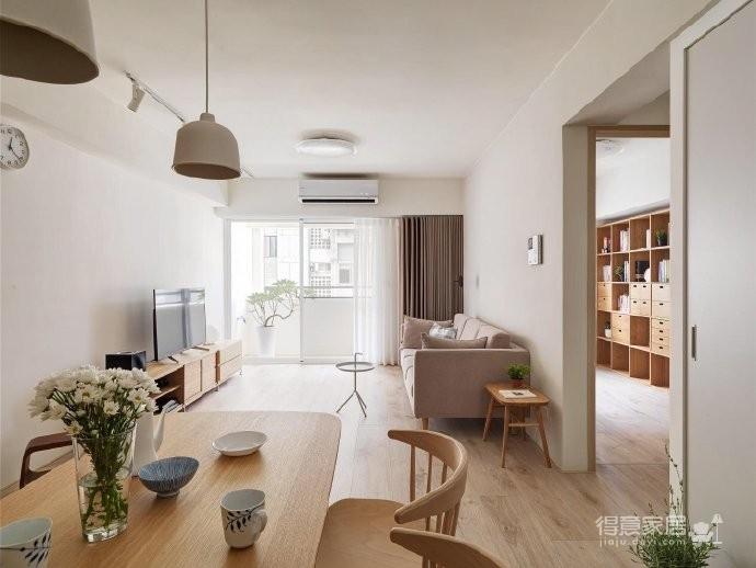 自然舒适原木风家居设计,暖暖的色调让人感觉特别温馨惬意! 图_4