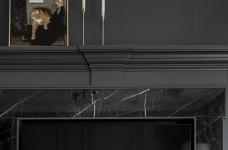 首发 || 这个家用壁炉电视墙,打造出撩人心弦的美式轻奢风!图_8