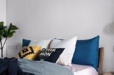 118平现代简约三居室,黑白灰调舒适阳光房图_7