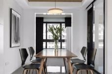 118平现代简约三居室,黑白灰调舒适阳光房图_9