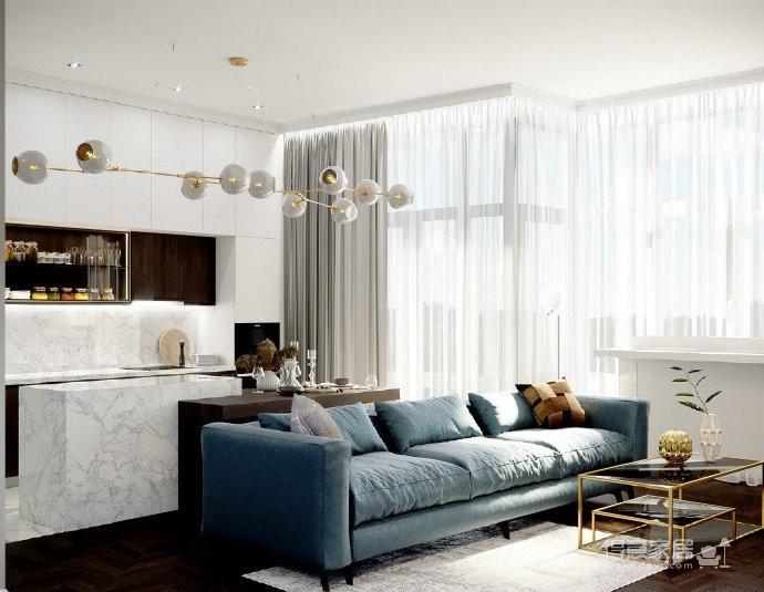 简约优雅的质感空间