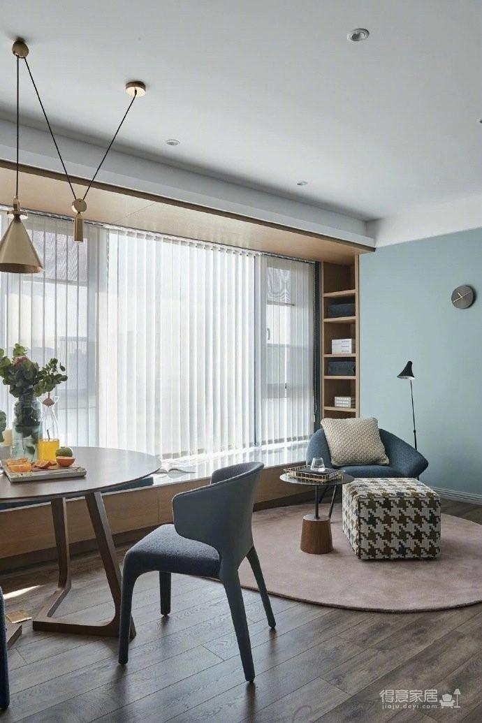 超有格调的现代简约风家居,客厅的设计非常不同寻常图_5