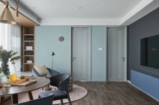 超有格调的现代简约风家居,客厅的设计非常不同寻常图_1