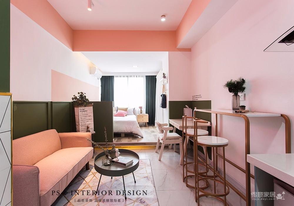 北斗公寓loft-60平米原创设计图_1