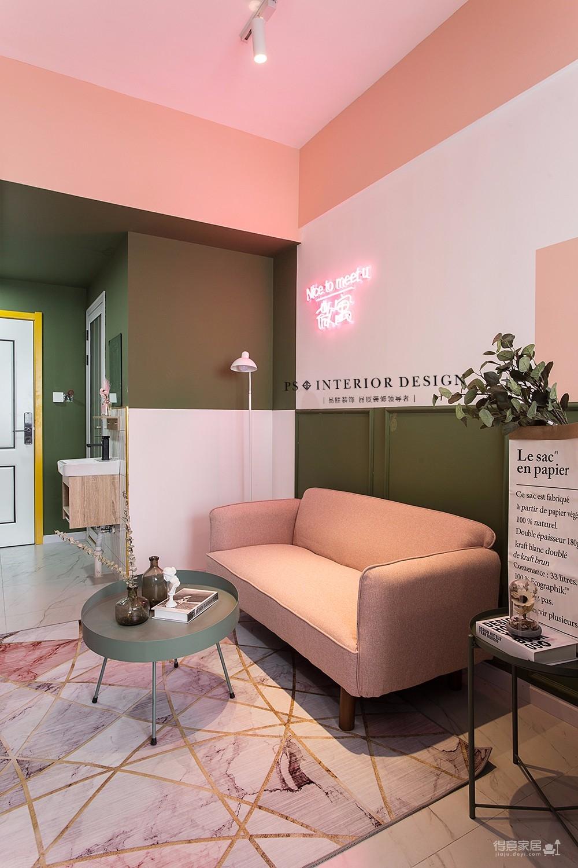 北斗公寓loft-60平米原创设计图_4