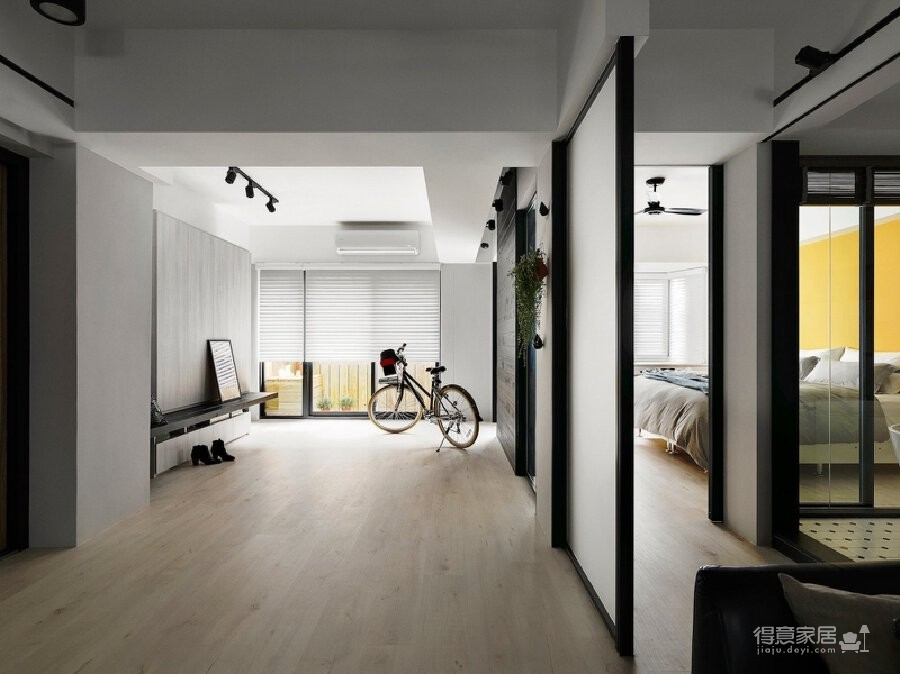 112.2m²姐妹住宅,翻新设计图_4