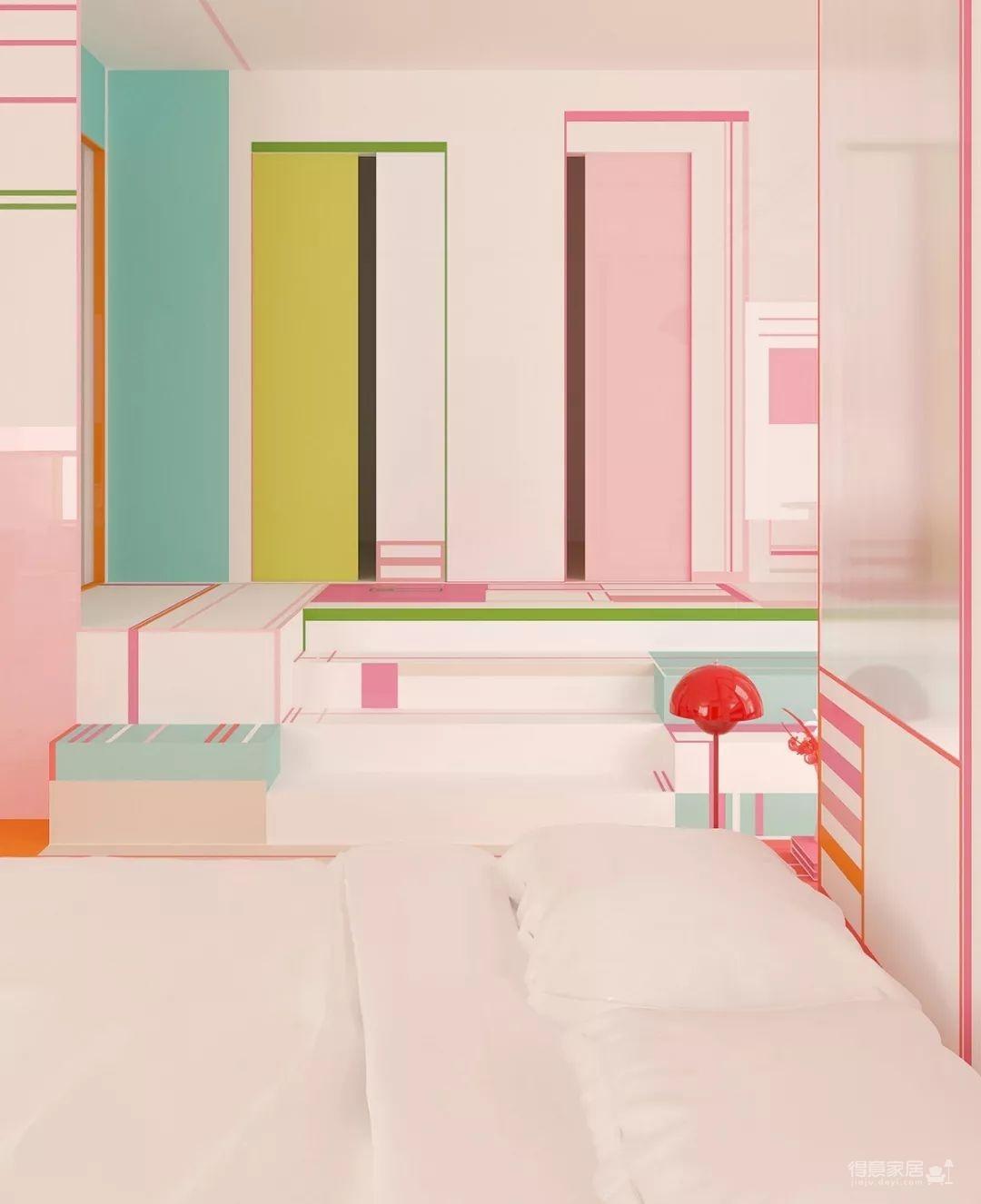 粉色湖水系,会呼吸的房子图_17