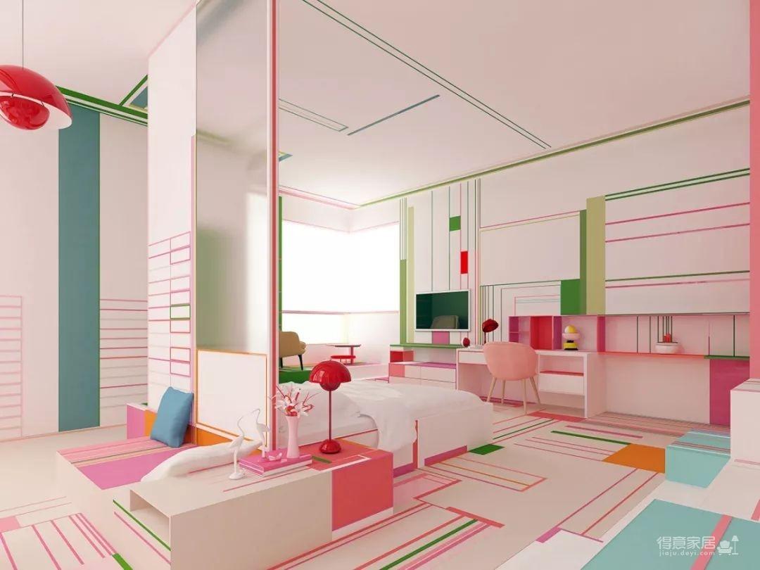 粉色湖水系,会呼吸的房子图_11