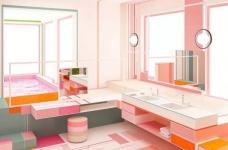 粉色湖水系,会呼吸的房子图_6