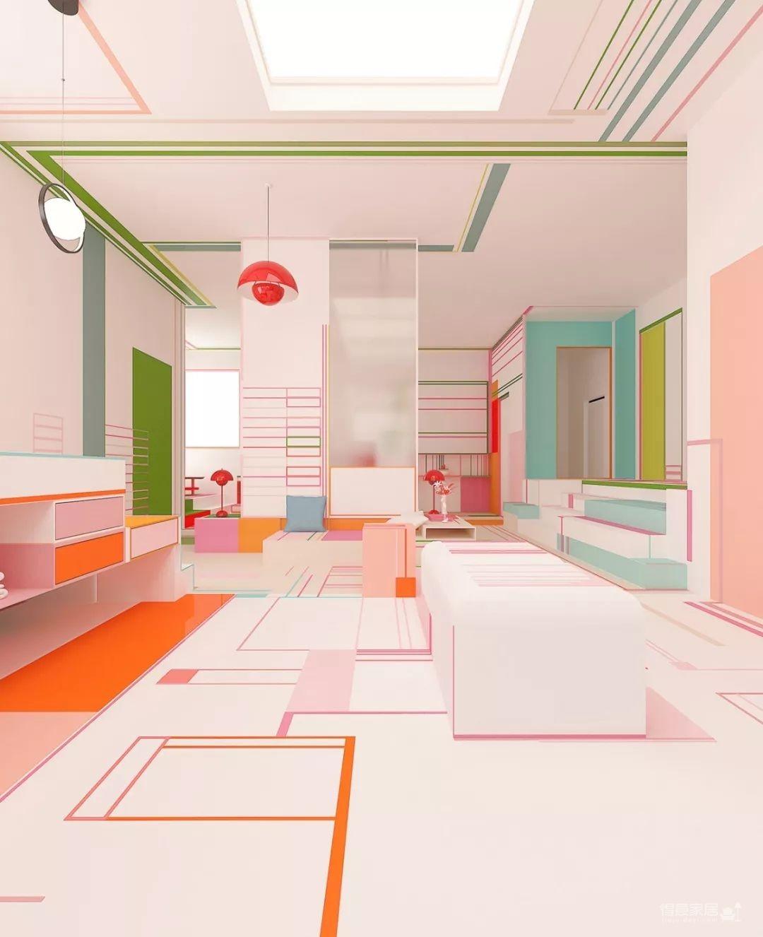 粉色湖水系,会呼吸的房子图_4