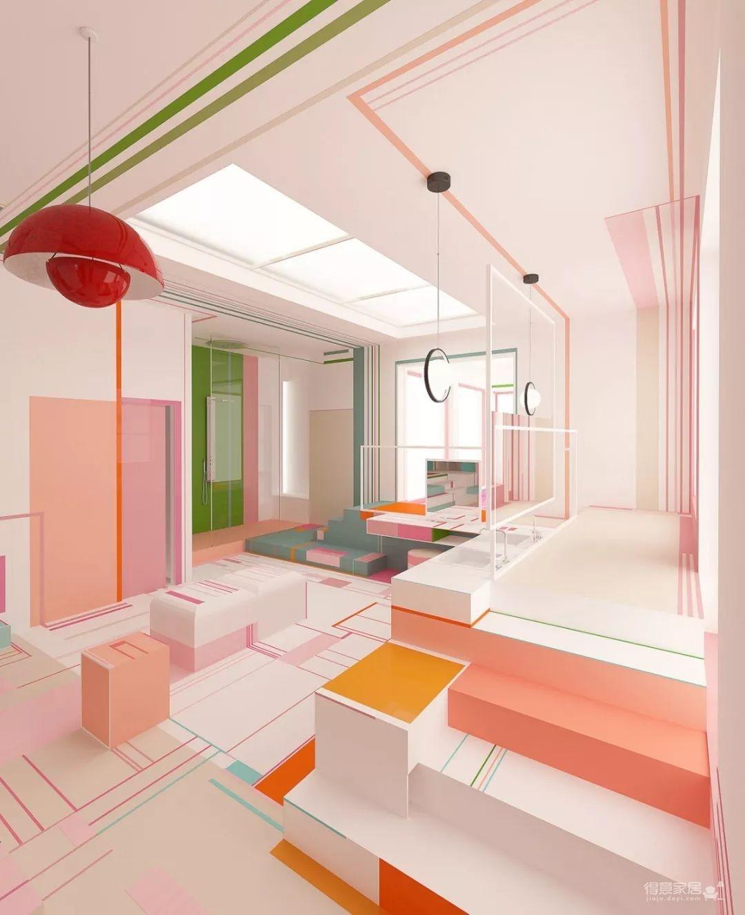 粉色湖水系,会呼吸的房子图_2