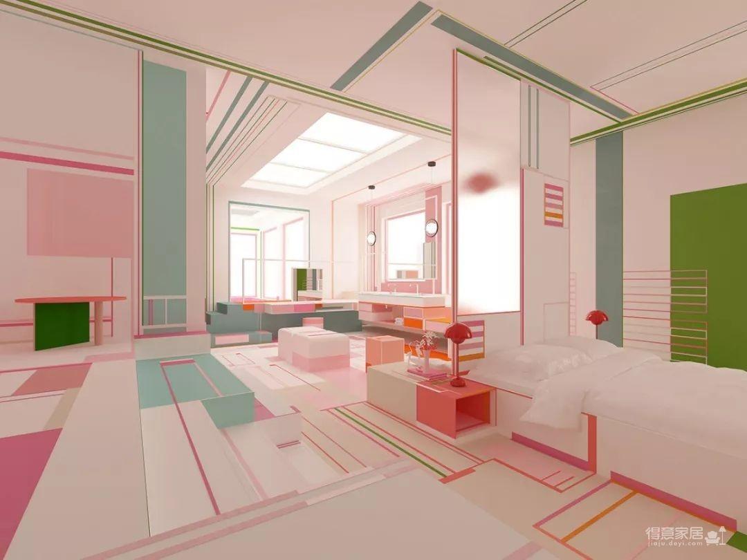 粉色湖水系,会呼吸的房子图_10