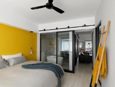 112.2m²姐妹住宅,翻新设计