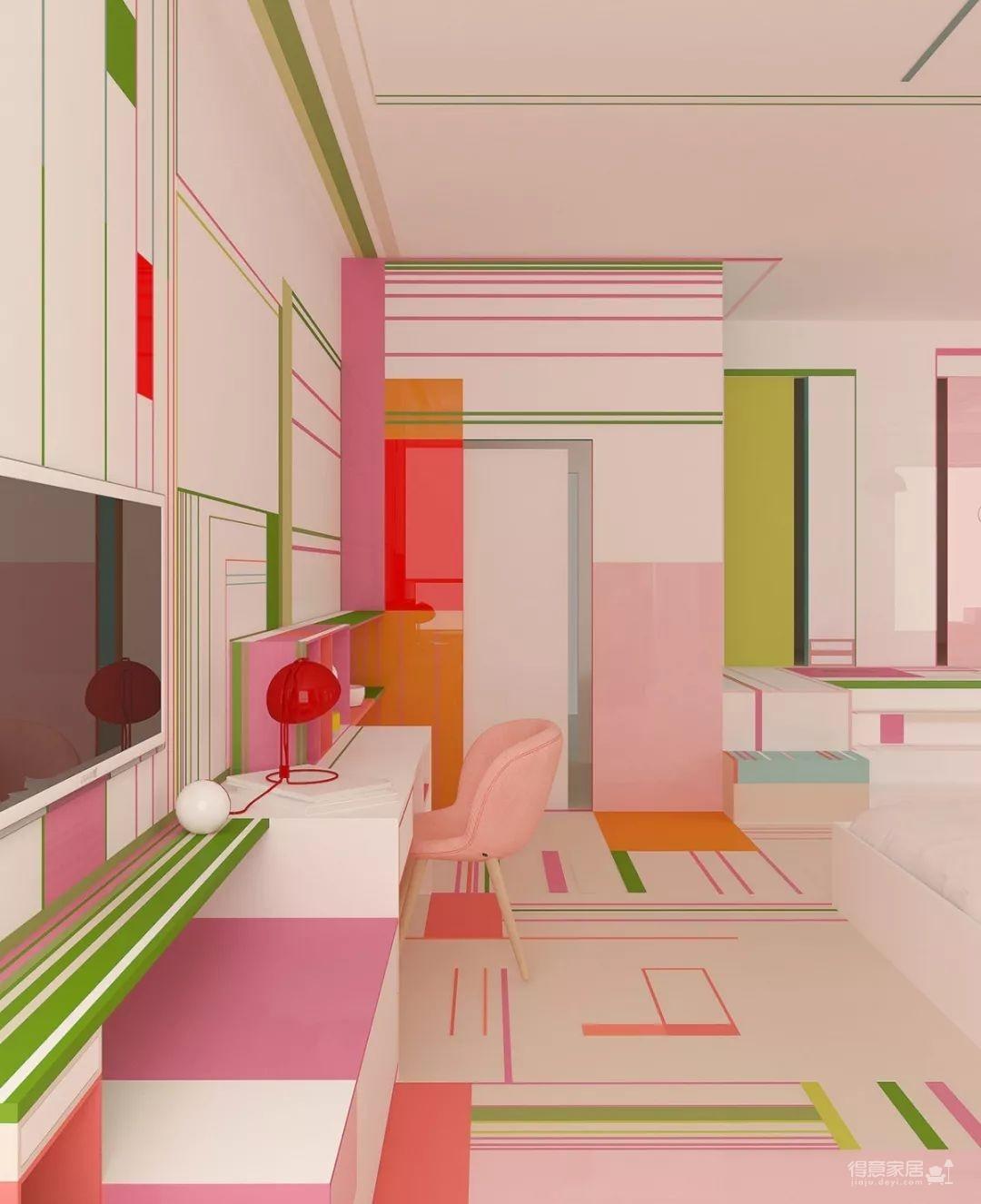 粉色湖水系,会呼吸的房子图_3