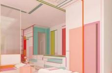 粉色湖水系,会呼吸的房子图_12