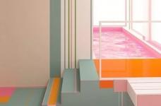 粉色湖水系,会呼吸的房子图_13