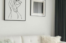 89平简约风家居,多年的装修经验告诉我们,能选毛坯千万别选精装房,然后就是选一个靠谱设计师真的省好多心思图_5