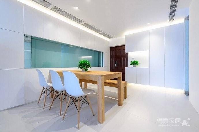 现代简约风格复式家居装修设计方案,无处不体现出年轻人追求的现代感,又不失功能性,好酷! 图_2