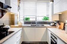 现代简约风格复式家居装修设计方案,无处不体现出年轻人追求的现代感,又不失功能性,好酷! 图_9