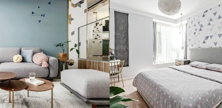 140㎡清新北欧风格装修,简约而舒适的生活格调!