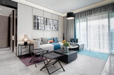 通过对空间结构和比例的细致推敲,多种现代材质的巧妙兼糅的家!