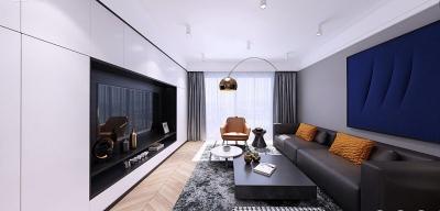 保利香颂--极简--明亮的家