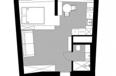 这位型男的39平米住宅,却有着390平米的惬意与悠然图_2
