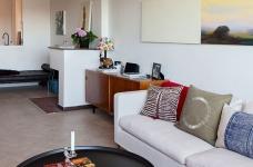 47平功能性单身公寓设计,阳台风景美如画!图_3